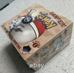 1999 1st Edition Fossil Booster Box Pokémon Sealed See Pics Mint Fresh