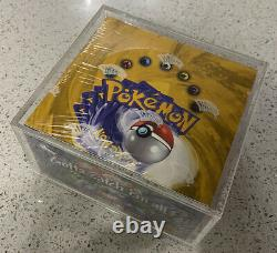 1999-2000 Base Set 4th Print Booster Box Made In UK Sealed See Pics Not Mint