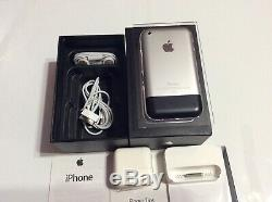 Apple iPhone 1st Generation- 8GB- A1203 (GSM) WithOriginal Box Excellent Near Mint