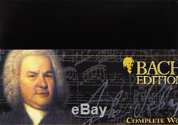 BACH EDITION THE COMPLETE WORKS 160 CD box near mint made in GERMANY