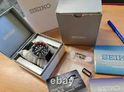 BOXED Seiko Turtle SRP779 CRAFTER BLUE Prospex Pepsi near MINT divers watch