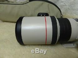 CANON EF 400mm F/5.6 L USM Prime Lens + Case + Box All near mint + filter