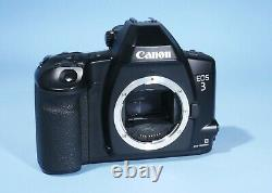 Canon EOS 3 Professional AF SLR 35mm Film Camera Boxed Near Mint & Working