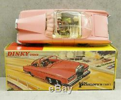 Dinky 100 Lady Penelope's Fab 1 Thunderbirds Rolls Royce Pink Near Mint Boxed