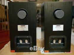Dynaudio Focus 140 Bookshelf Speakers Near Mint condition Rare and Nice withBox