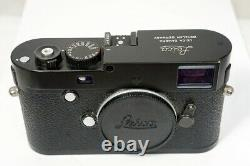 LEICA M-P TYP 240 body 10773 black paint boxed many accessories NEAR MINT
