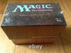 Magic The Gathering International Collectors' Edition Sealed Box Power 9