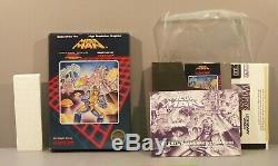 Mega Man 1 (Nintendo NES 1987) Complete in Box (CIB) Near Mint Capcom Megaman