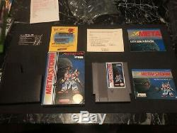 Metal Storm (Nintendo, NES) CIB Complete In Box with Poster! Authentic/Near Mint