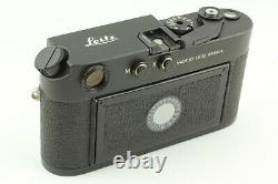 NEAR MINT+3 in BOX Leica M4-P Black Rangefinder 35mm Camera From Japan 1307