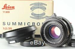 NEAR MINT BOX Leica Leitz SUMMICRON M 35mm F/2 Wide Angle Lens From JAPAN #725
