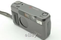 NEAR MINT Contax T2 Chrome 35mm Film Camera with Case + Strap from JAPAN #0897