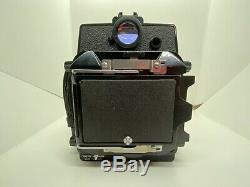 NEAR MINT Topcon Horseman VH-R with 8EXP 120 Film Back in box From JAPAN #1918