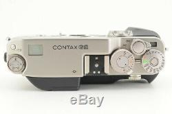 NEAR MINT in BOX Contax G2D Rangefinder Film Camera from Japan #4488