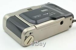 NEAR MINT in Box Contax T2 D Back Point & Shoot Camera withCase From Japan #596