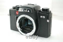 NEAR MINT in BoxLeica R5 35mm SLR Film Camera Body only #3552