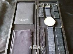 NOMOS Glashutte Ahoi Date withbox and papers (Near Mint Condition)