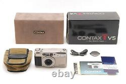 Near MINT In Box Contax TVS Point & Shoot 35mm Film Camera From JAPAN