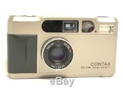 Near MINT in BOX, CaseCONTAX T2 Point & Shoot 35mm Film Camera from JAPAN #1324