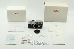 Near MINT+ in BOX Leica M6 0.72 Silver 35mm Rangefinder Film Camera from Japan