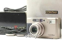 Near MINT in Box Contax TVS II 35mm Point & Shoot Carl Zeiss from Japan #1896