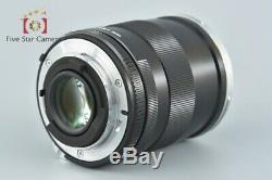 Near Mint! Carl Zeiss Distagon 35mm f/2 ZF T for Nikon with Box