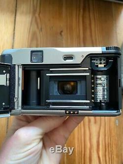 Near Mint Contax Tvs 35mm Camera Complete Kit With Filters Case Boxed Strap Etc t2