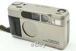 Near Mint+++ In BOX CONTAX T2 35mm Point & Shoot Film Camera From Japan #284