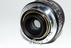 Near Mint In Box Konica M-Hexanon 28mm f/2.8 Lens for Leica M Mount Japan 1-1