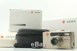 Near Mint LEICA minilux zoom P&S Film Camera with Box Case From JAPAN #802