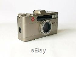 Near Mint Leica Minilux Zoom Highlight Set 35mm Film Camera with Boxed Outfit