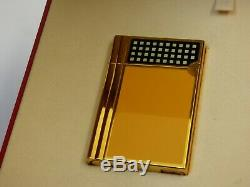 Near Mint ST Dupont Cohiba Gatsby Lighter Original Box with Papers