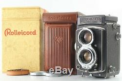 Near Mint in BOX Rolleicord IV with Schneider Xenar f3.5 75mm from Japan 1617