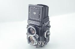 Near Mint+++ in BOX Rolleiflex 2.8F White Face with Planar 80m From Japan #204