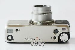 Near Mint in Box CONTAX TVS 35mm Point & Shoot Zeiss Sonnar from Japan C225