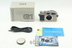 Near Mint in Box Contax G1 35mm Green Label Rangefinder Camera Body from JAPAN