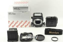Near Mint+++ in BoxMamiya RB67 Pro SD body with 120 Film Back from Japan #73A