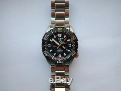 ORIENT Bravo M-FORCE Sports 200M Automatic Air Divers Boxed With Tags Near Mint