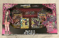 Pokemon Champions Path Box Set of 5 Dubwool Hatterene Marnie Special Pin Sealed