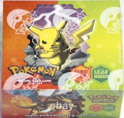 Pokemon EX Fire Red Leaf Green Sealed Booster Box Near Mint Condition Rare! FRLG