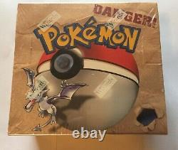 Pokemon Fossil unlimited Booster Box Factory Sealed Fresh NEAR MINT