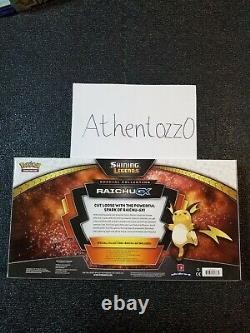 Pokemon Shining Legends Special Collection Raichu GX Box NEW SEALED IN HAND