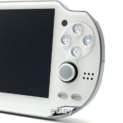 SONY PS Vita Crystal White PCH-1000 OLED Wi-Fi with Charger, Box Near Mint