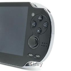 SONY PS Vita PCH-1100 Crystal Black Wi-Fi OLED with Charger, Box Near Mint
