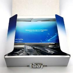 SONY PS Vita PCH-2000 Slim Glacier White Wi-Fi LCD with Charger, Box Near Mint