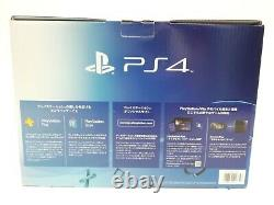 Sony PS4 CUH-1000A 500GB PlayStation 4 Jet Black Console with Box Near Mint