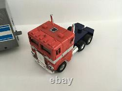 Transformers G1 Optimus Prime Vintage figure Near Mint 100% complete with Box