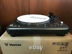 VESTAX PDX-3000MK2 Professional DJ Use Turntable with box NEAR MINT condition