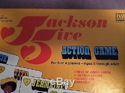 Very RARE Michael Jackson 5 Five Board Action Game 1972. Near Mint Cnd New w Box