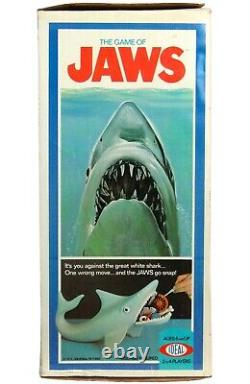 Vintage 1975 Ideal Jaws Great White Shark Game 100% Complete Near Mint withBox